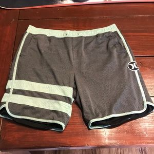 Mens Hurley Shorts Large
